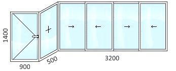 Заказать остекление балкона серия дома и-155 недорого цена п.
