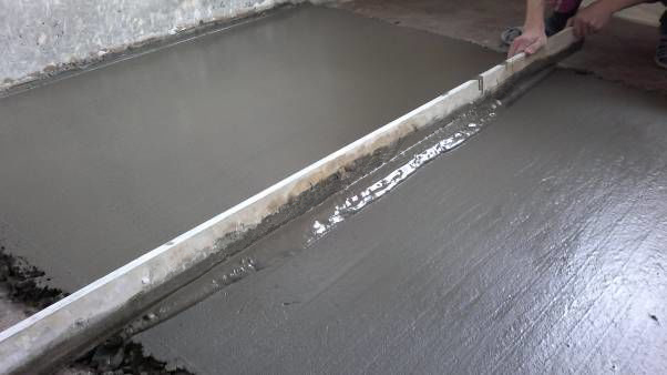 стяжка пола с керамзитом в панельном доме